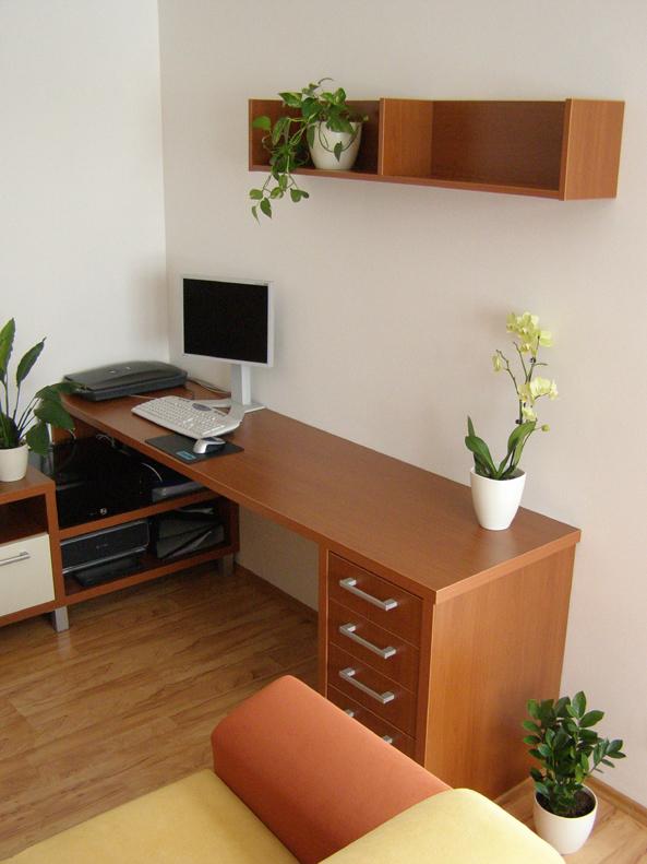 pracovna - interiérový design Brno